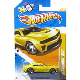 2012 Hot Wheels 12 Camaro Zl1 Amarelo Similar Bumblebee