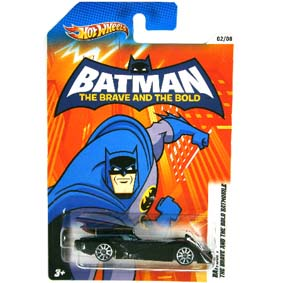 2012 Hot Wheels Batman - The Brave and The Bold Batmobile X4325-0910