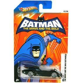 2012 Hot Wheels Batman - The Brave and The Bold Batmobile X4325-0910