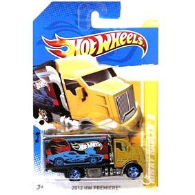 68e72bf61 2012 Hot Wheels Hiway Hauler 2 dourado V5333 series 45 50 45 247