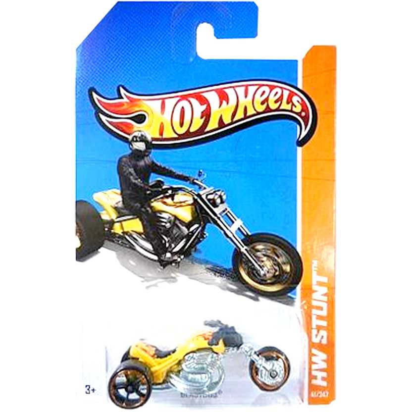 2012 Hot Wheels moto Blastous amarelo Y2485 series 41/247 escala 1/64