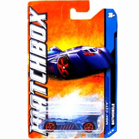 2012 Matchbox Batmobile W4886 série 25/120