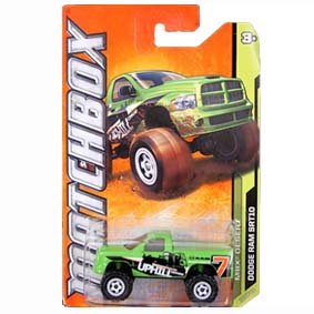 2012 Matchbox Dodge Ram SRT10 W4782 série 50/120