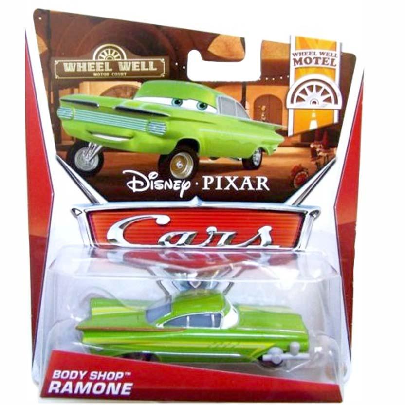 2013 Cars Retro Disney Pixar Body Shop Ramone : Wheel Well Motel 8/11 escala 1/55