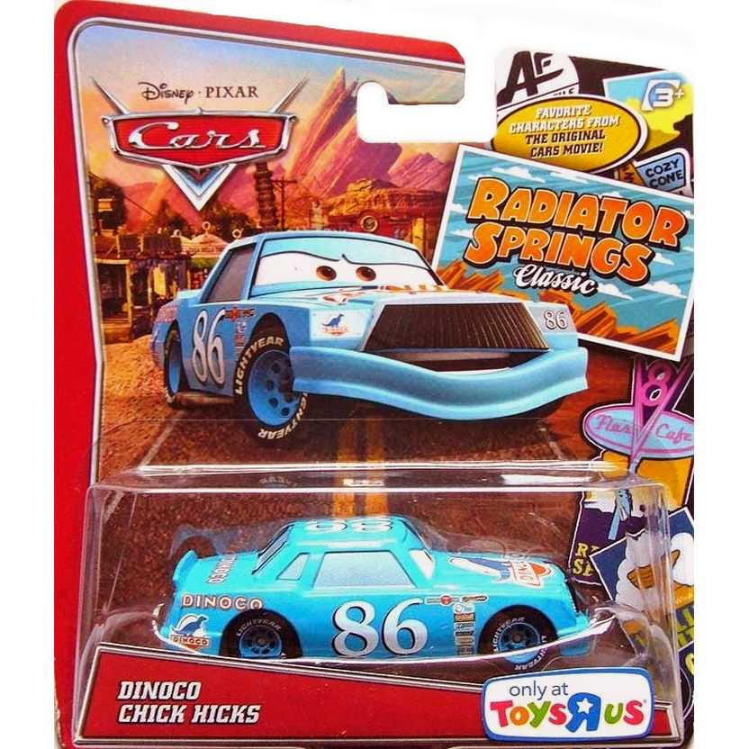 2013 Disney Cars Pixar Dinoco Chick Hicks Radiator Springs Classic Y8459 escala 1/55