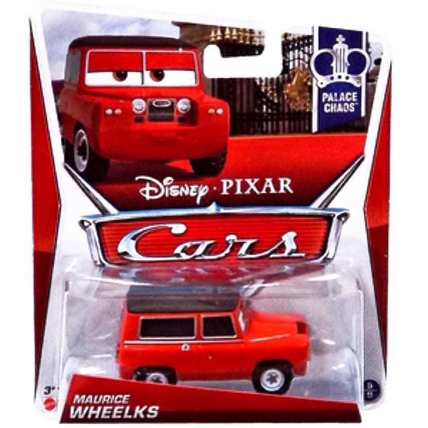 2013 Disney Cars Retro Palace Chaos 5/9 Maurice Wheelks (Land Rover Defender)