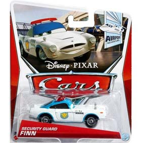 2013 Disney Pixar Cars Retro Airport Adventure 4/7 Security Guard Finn