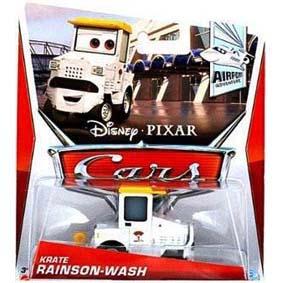 2013 Disney Pixar Cars Retro Airport Adventure 6/7 Krate Rainson Wash