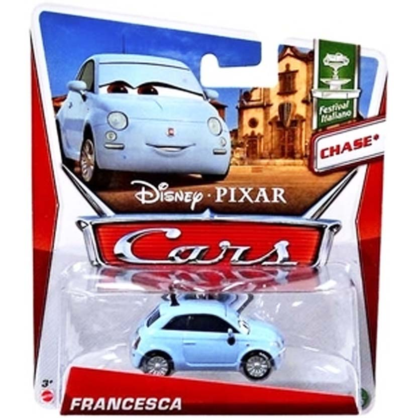2013 Disney Pixar Cars Retro Festival Italiano 6/10 Francesca (CHASE) : Fiat 500