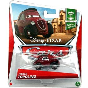 2013 Disney Pixar Cars Retro Festival Italiano Uncle Topolino 1/10