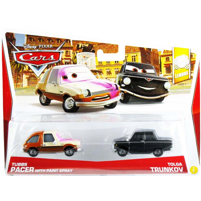 2013 Disney Pixar Cars retro Lemons 7/7 Tubbs Pacer & Tolga Trunkov