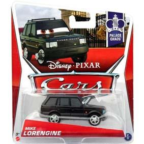 2013 Disney Pixar Cars Retro Palace Chaos 2/9 Mike Lorengine (Land Rover Range Rover)