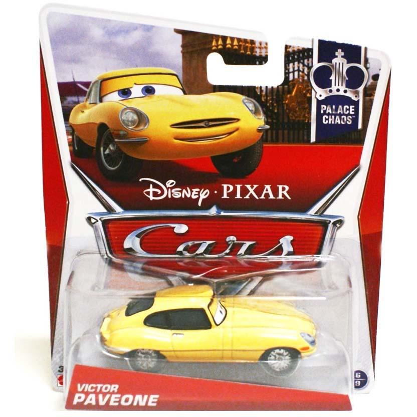 2013 Disney Pixar Cars Retro Palace Chaos 6/9 Victor Paveone (Jaguar E-Type)