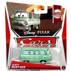 2013 Disney Pixar Cars Retro Rust-eze Racing 1/8 Dusty Rust-Eze