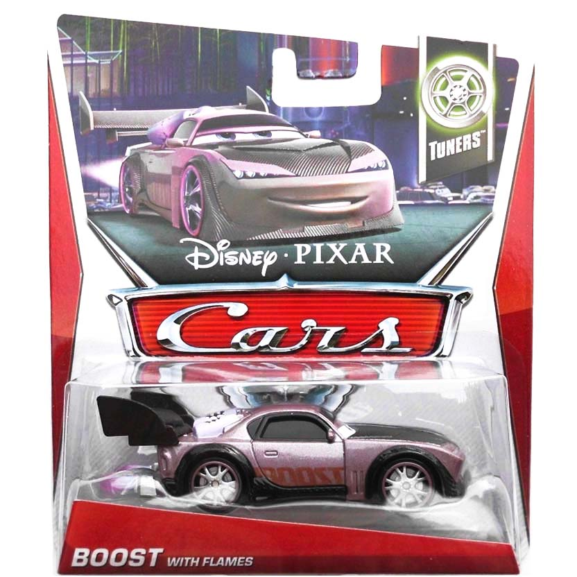 2013 Disney Pixar Cars Retro Tuners 9/10 Boost with flames