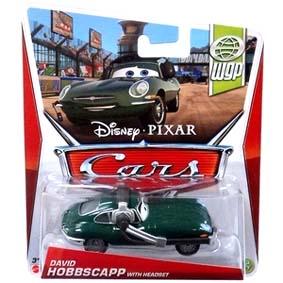 2013 Disney Pixar Cars Retro WGP World Grand Prix 13/17 David Hobbscapp