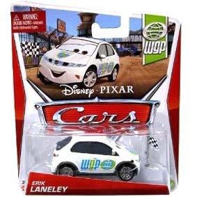 2013 Disney Pixar Cars Retro WGP World Grand Prix 9/17 Erik Laneley Honda Civic