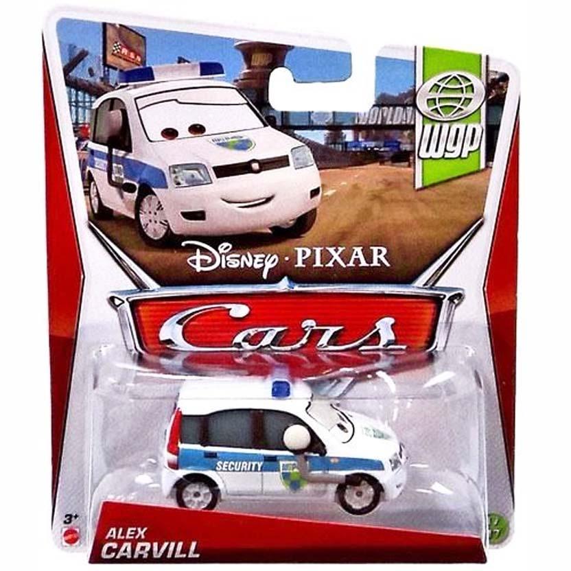 2013 Disney Pixar Cars Retro WGP World Grand Prix Alex Carvill 17/17