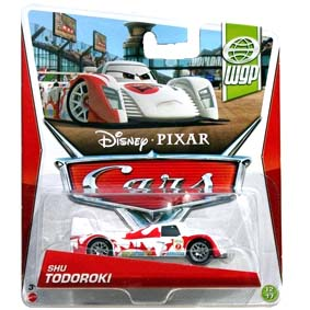 2013 Disney Pixar Cars Retro WGP World Grand Prix Shu Todoroki 12/17