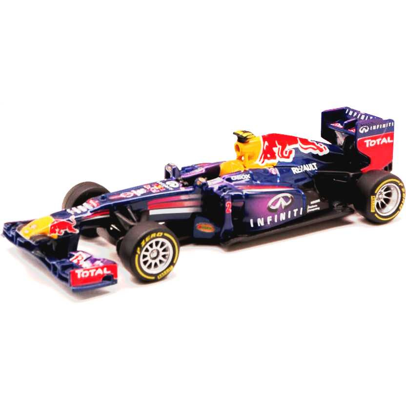 2013 F1 Formula 1 Red Bull RB9 Mark Weber (2013) Renault marca BBurago escala 1/32