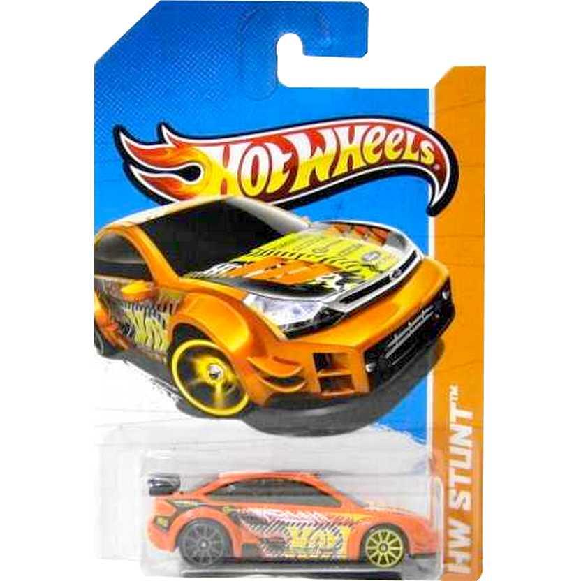 2013 Hot Wheels 08 Ford Focus laranja X1726 series 84/250 escala 1/64