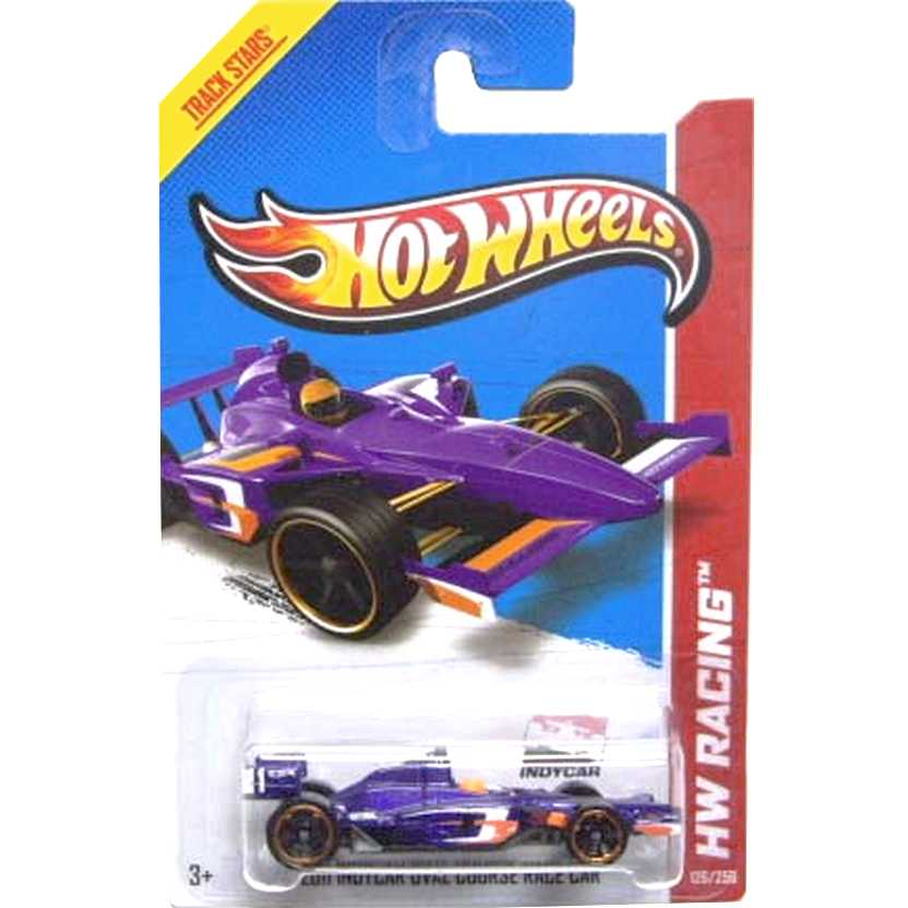 2013 Hot Wheels 2011 Indycar Oval Course Race Car X1757 series 126/250 escala 1/64