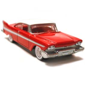 2013 Hot Wheels Boulevard 58 Plymouth Belvedere CHRISTINE Carro Assassino X8238