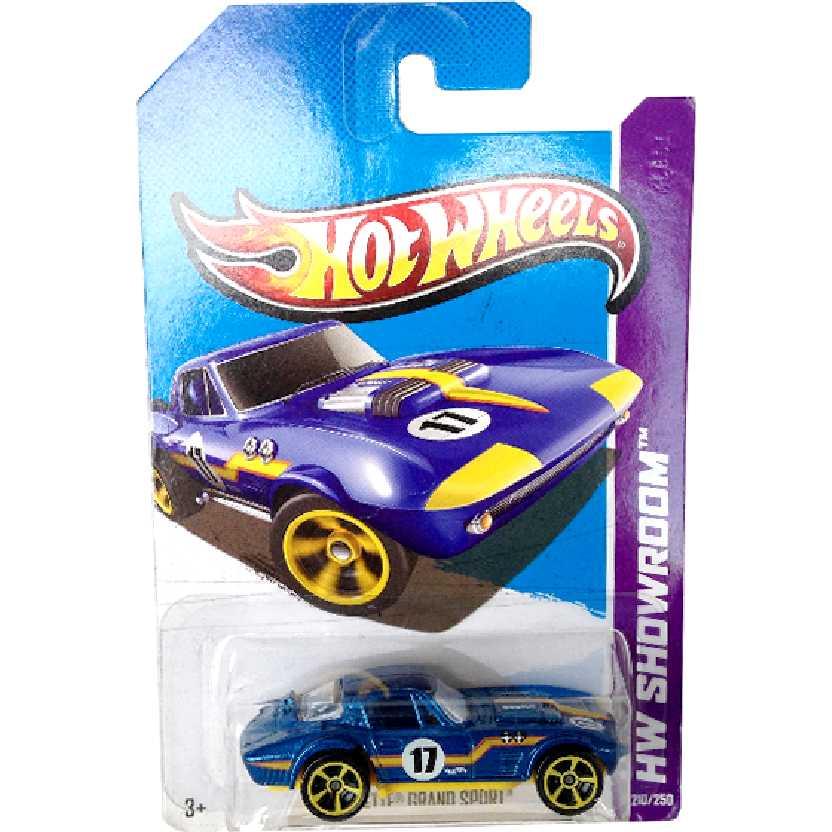 2013 Hot Wheels Corvette Grand Sport series 210/250 X1824 escala 1/64