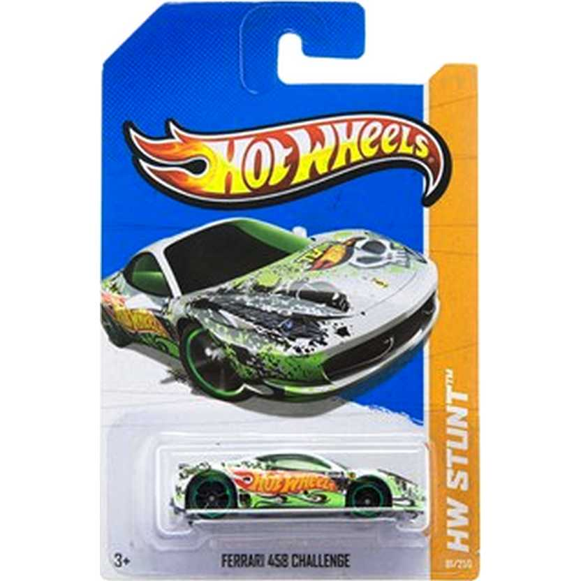 2013 Hot Wheels Ferrari 458 Challenge X1723 series 81/250 escala 1/64