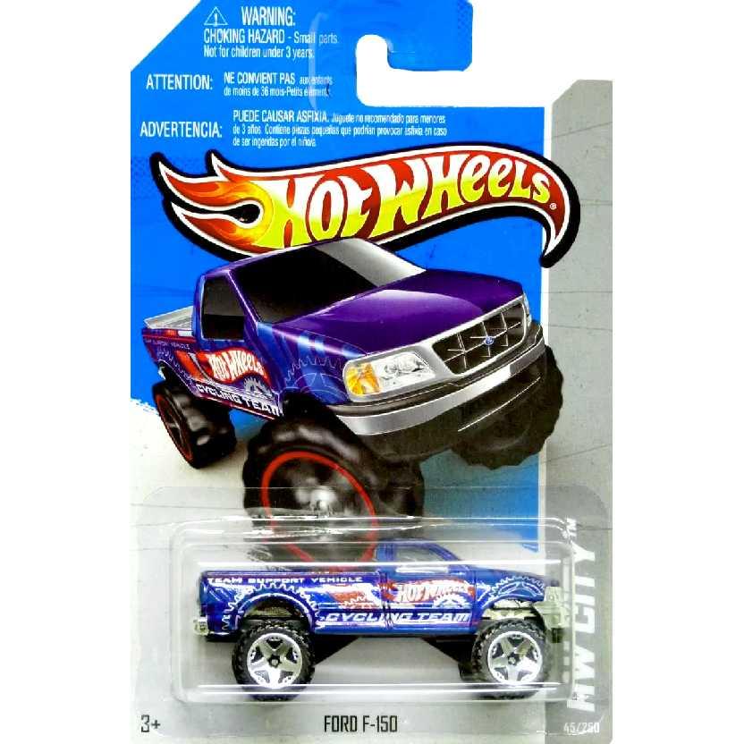 2013 Hot Wheels Ford F-150 series 45/250 X1884 escala 1/64