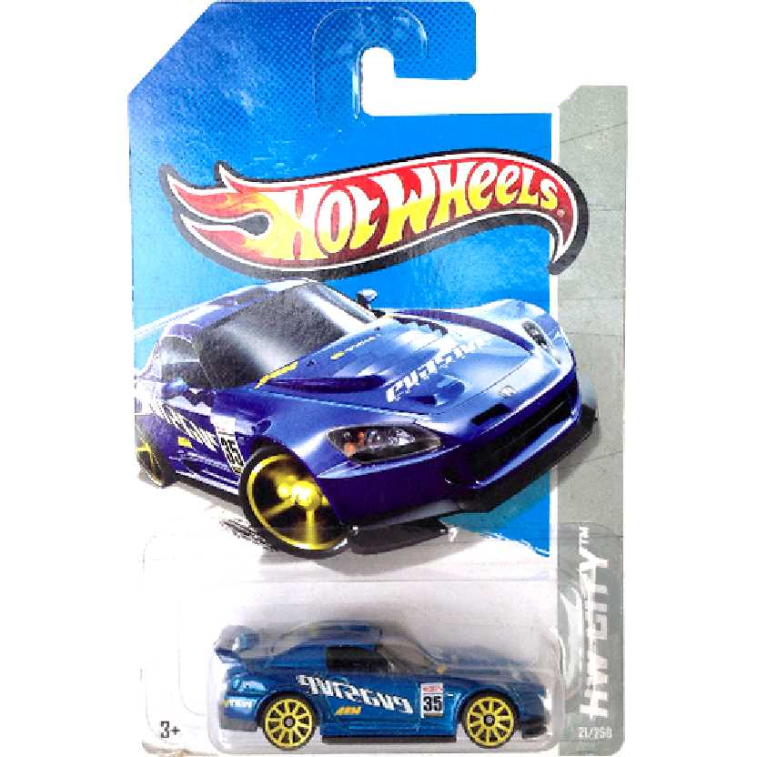 2013 Hot Wheels Honda S2000 azul metálico EVASIVE series 21/250 X1676 escala 1/64