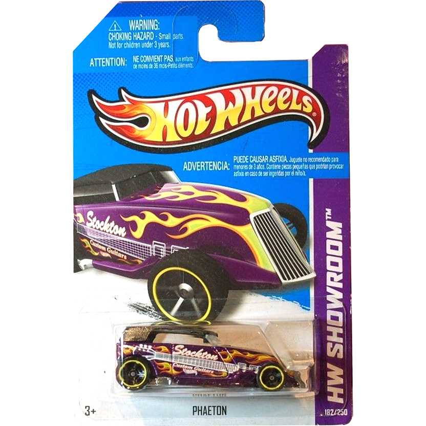 2013 Hot Wheels Phaeton roxo X1985 series 182/250 escala 1/64
