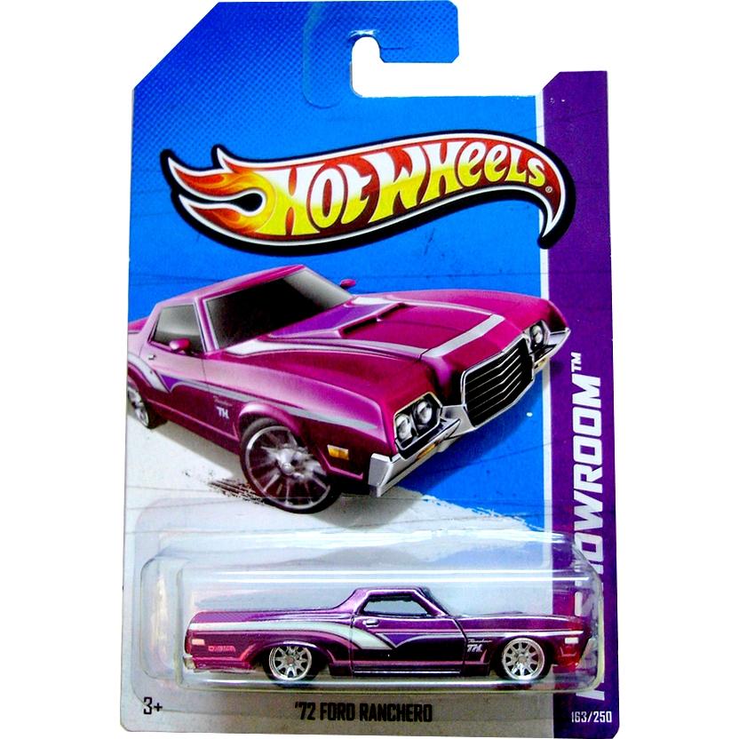 2013 Hot Wheels Superized Super Secret Treasure Hunt 72 Ford Ranchero X2017 163/250