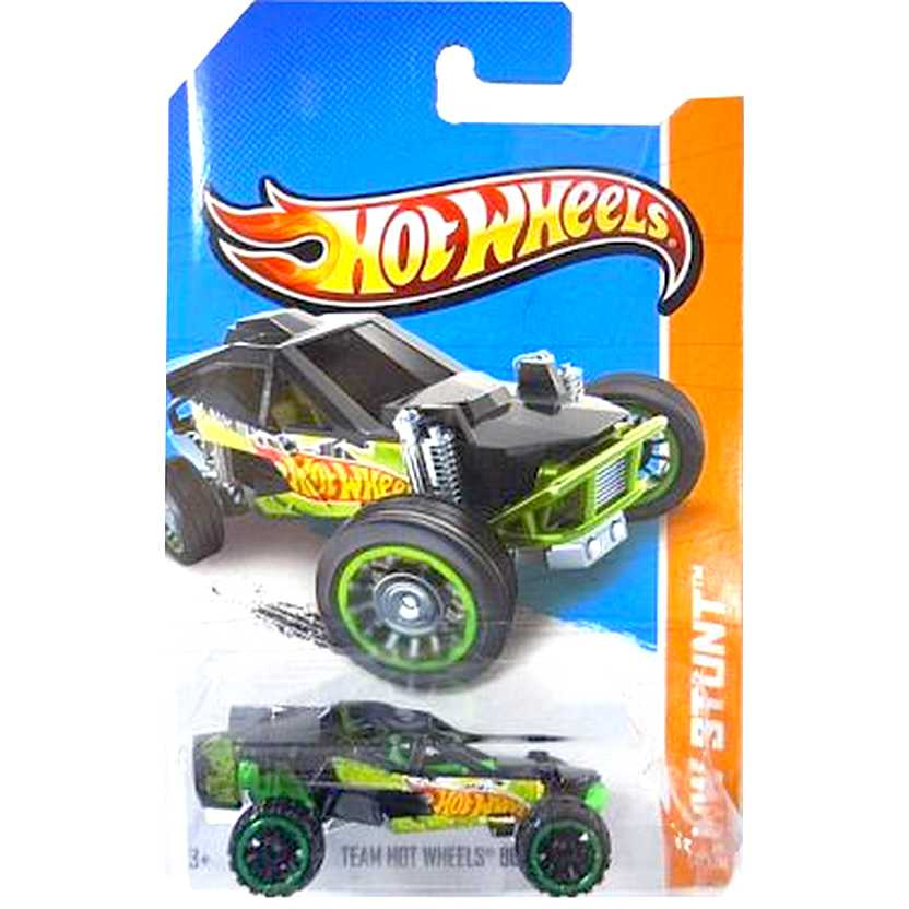 2013 Hot Wheels Team Hot Wheels Buggy (gaiola preta) X1621 series 94/250 escala 1/64