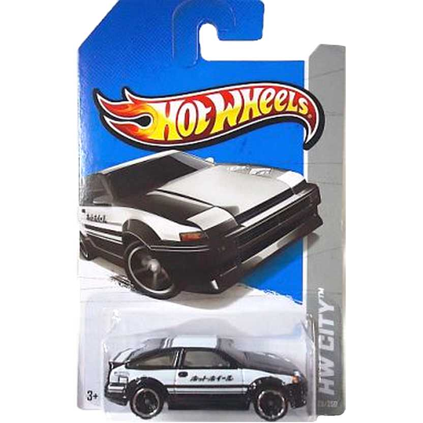 2013 Hot Wheels Toyota AE-86 Corolla Police X1678 series 23/250 escala 1/64