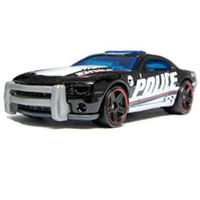 2013 Hot Wheels Treasure Hunt T-hunt 2010 Camaro SS Police X1673 series 17/250