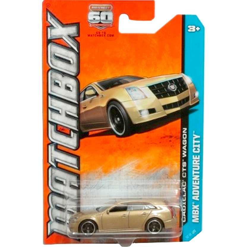 2013 Matchbox Cadillac CTS Wagon escala 1/64 MBX Adventure City 52 of 120 Y0737