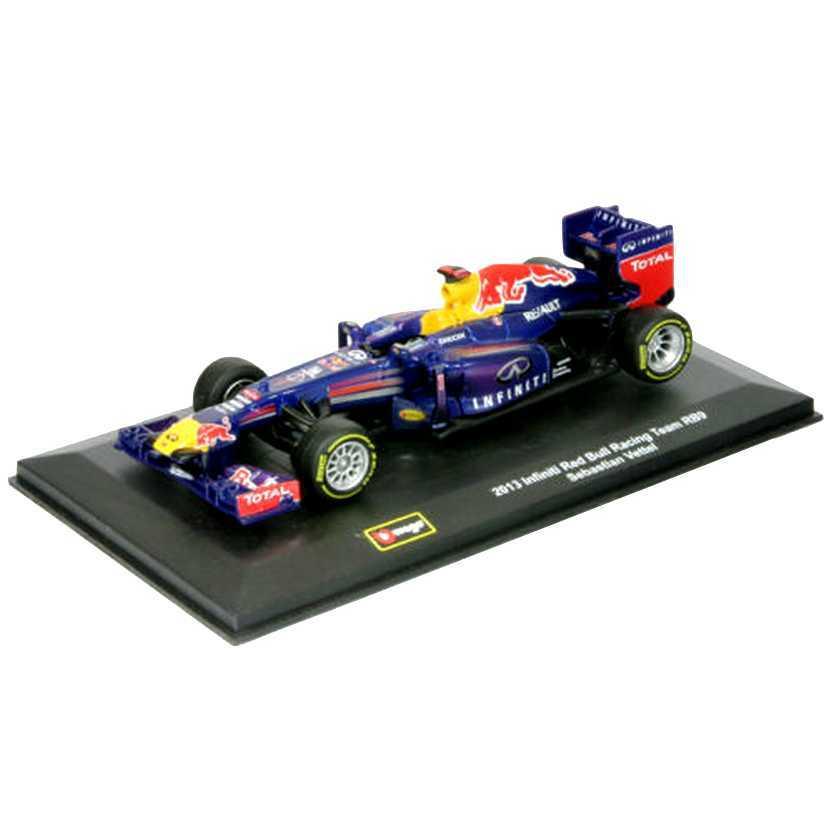 2013 Renault RB9 F1 Formula 1 Red Bull Sebastian Vettel marca BBurago escala 1/32