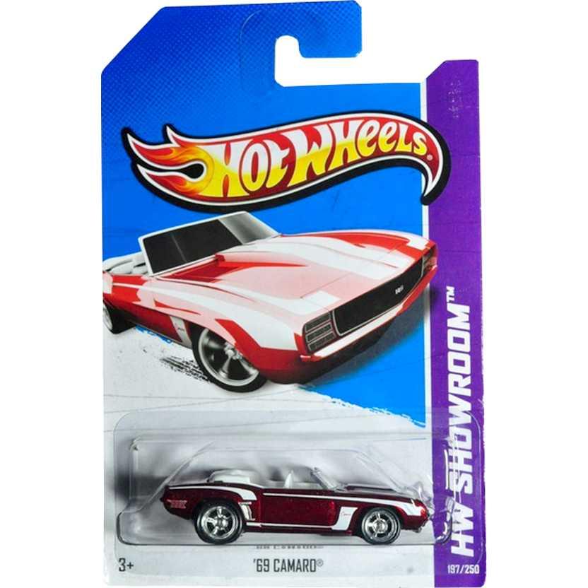 2013 Super Treasure Hunt Hot Wheels Superized 69 Camaro X2023 series 197/250