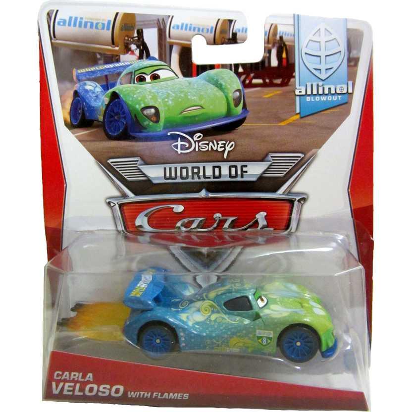 2014 Disney World of Cars Carla Veloso with flames Allinol Blowout 1/9