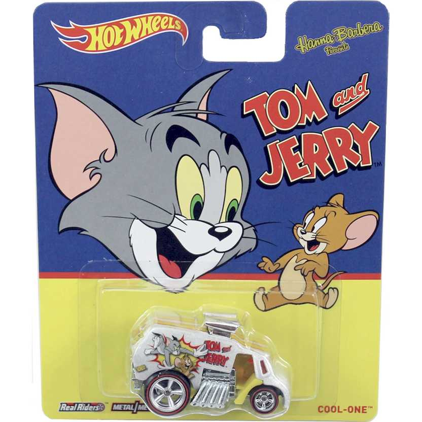 2014 Hot Wheels Hanna Barbera Tom e Jerry Cool-One Pop Culture BDR61 escala 1/64