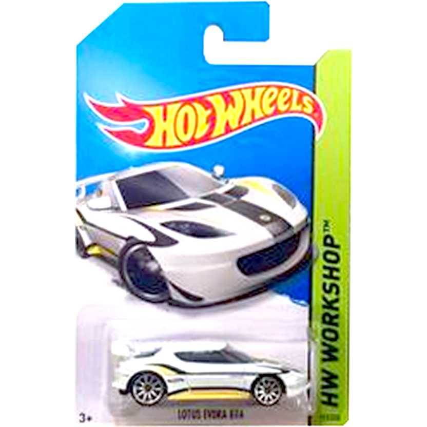 2014 Hot Wheels Lotus Evora GT4 branco BFD67 series 193/250 escala 1/64
