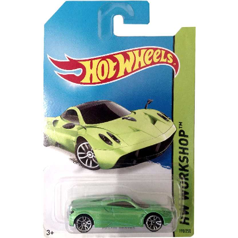 2014 Hot Wheels Pagani Huayra series 198/25 BFD72 escala 1/64
