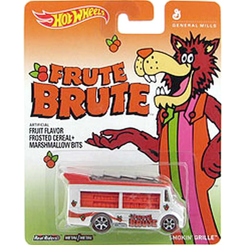 2014 Hot Wheels Pop Culture Frute Brute Smokin Grille General Mills BDR62 escala 1/64