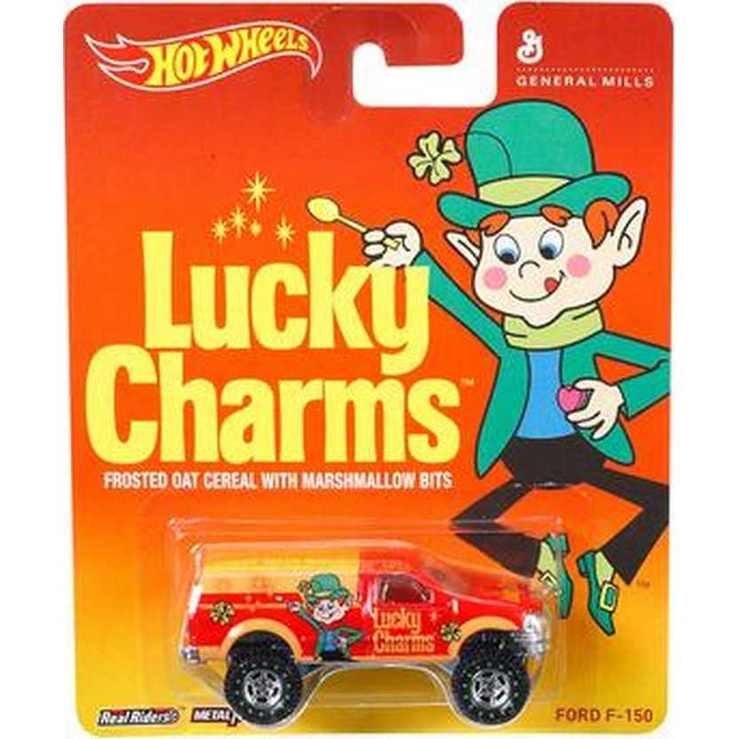 2014 Hot Wheels Pop Culture Lucky Charms Ford F-150 General Mills BDR75 escala 1/64