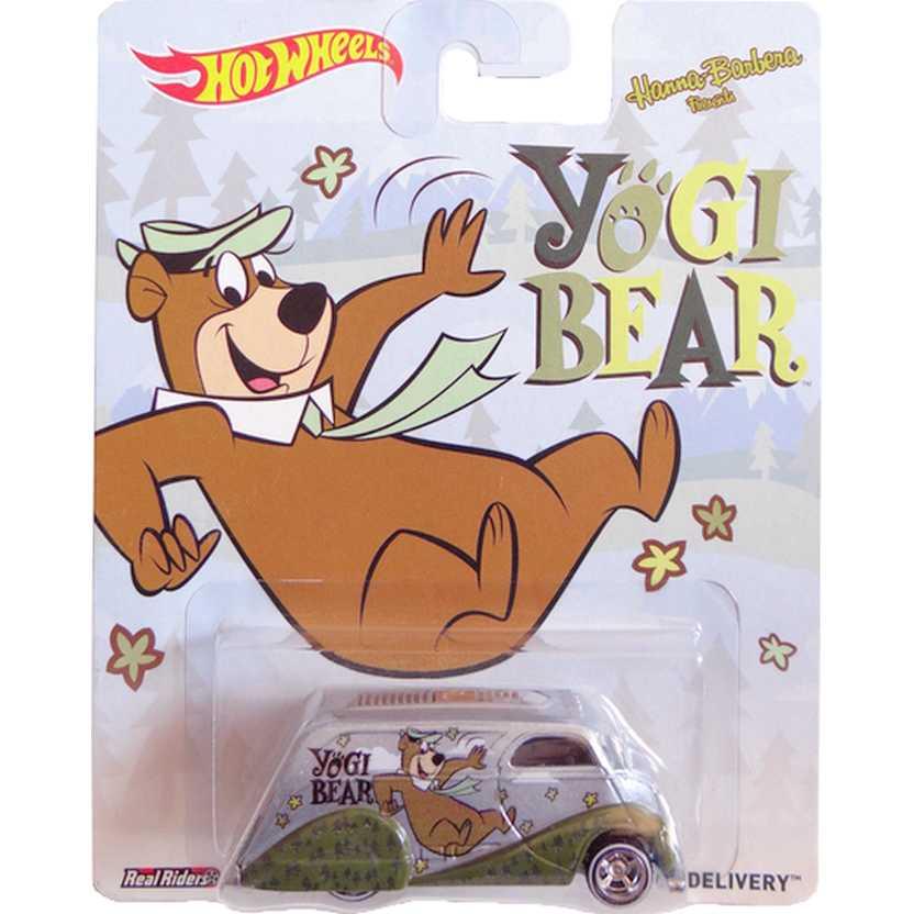 2014 Hot Wheels Pop Culture Yogi Bear Deco Delivery Zé Colmeia BDT03 escala 1/64