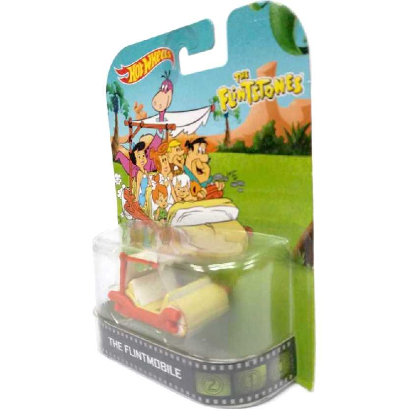 2014 Hot Wheels Retro Entertainment The Flintstones Flintmobile BDT80 esc. 1/64