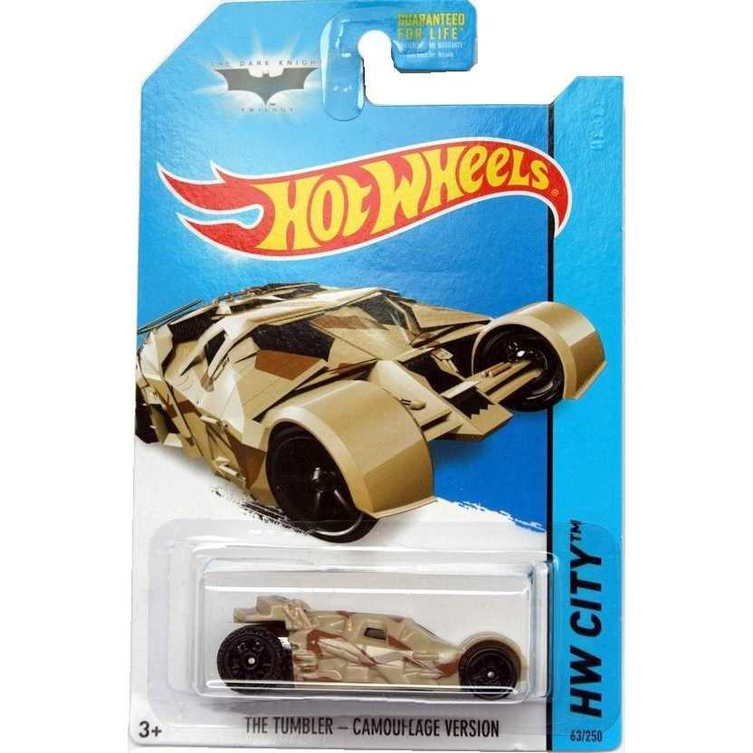 2014 Hot Wheels The Tumbler - Camouflage Version 63/250 BFC75 escala 1/64