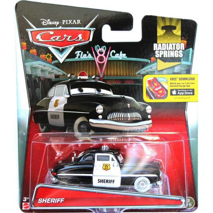 2015 Cars Disney Pixar Sheriff - Radiator Springs 3/19 escala 1/55