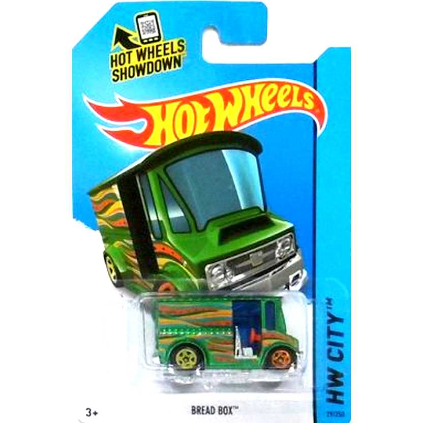 2015 Hot Wheels Bread Box verde CFH51 series 29/250 escala 1/64